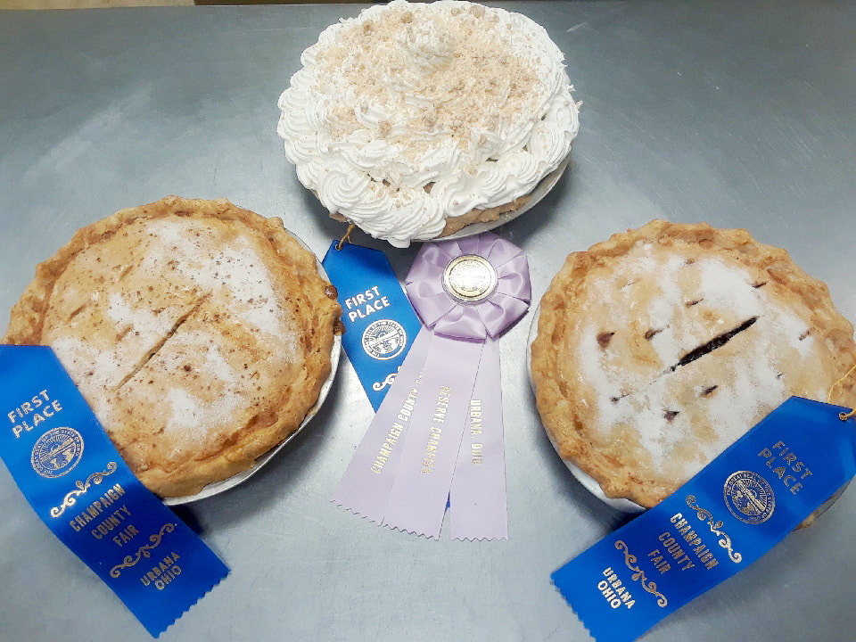 Champaign County Fair Pies