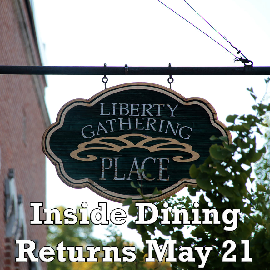 Liberty Gathering Place dining room
